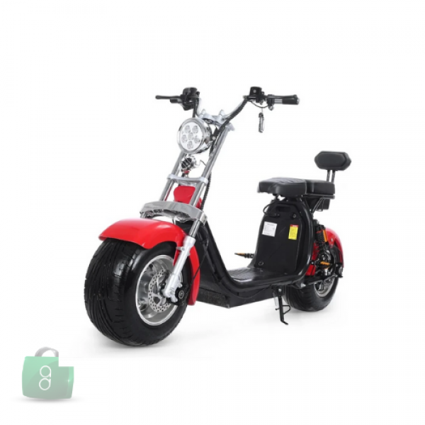 Rafplay - Trendy Fat Wheels Coco Scooter With Removable Battery & Lights