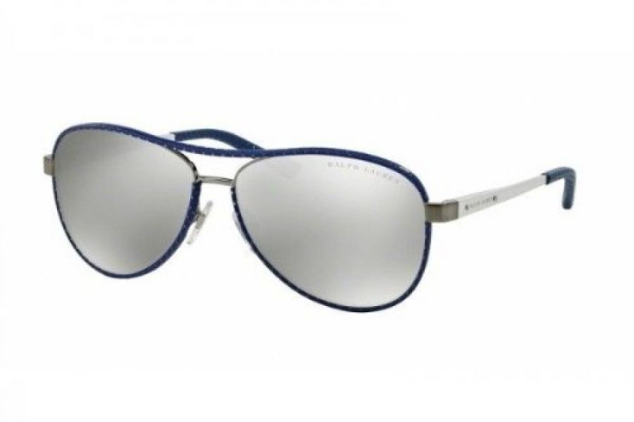 Polo Ralph Lauren - Women's Sunglasses Brushed Gunmetal(Silver mirrored Gray)
