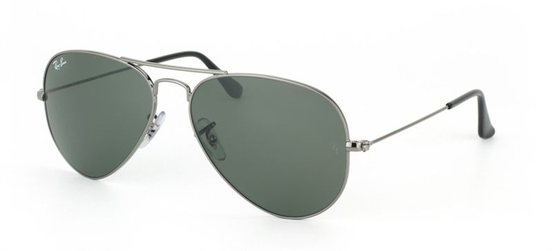67ffe7ca73 Ray Ban Aviator Large Metal RB3025 W3236 Green Classic G15 Sunglasses (55-14 -135)