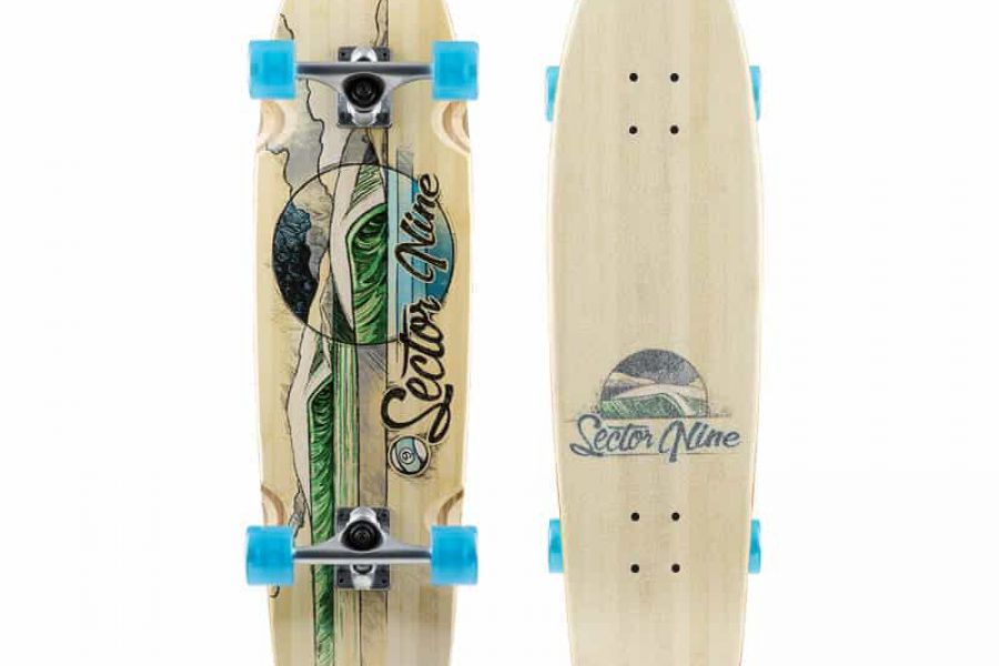 Sector 9 - Bamboozler 17 Complete Green 31.5 X 8.5