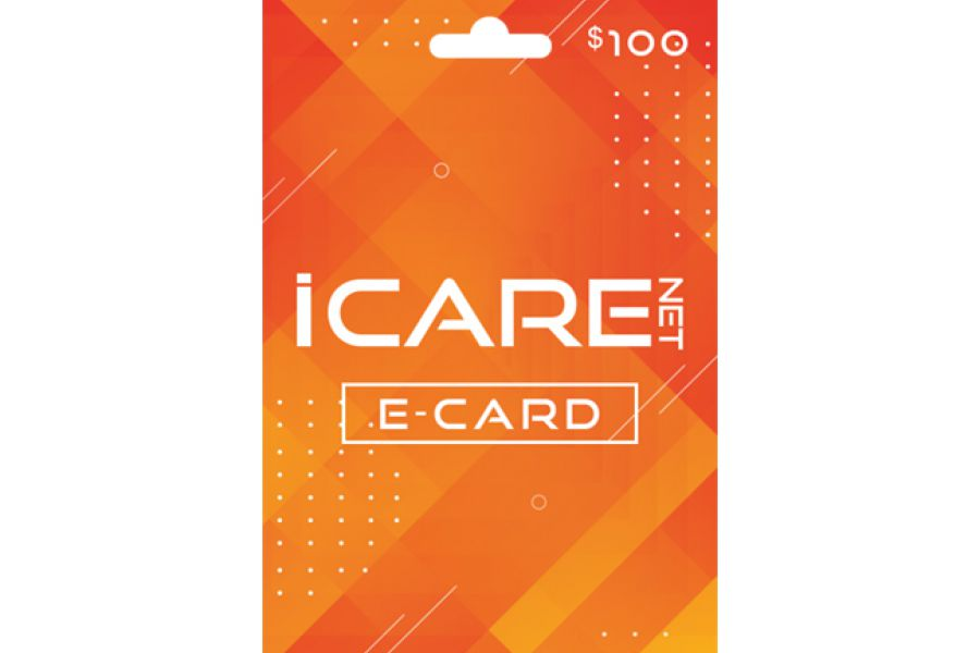 I Care Net E-Cards 100 USD