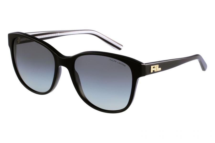 Polo Ralph Lauren - Women's Wayfarer Sunglasses (Black )