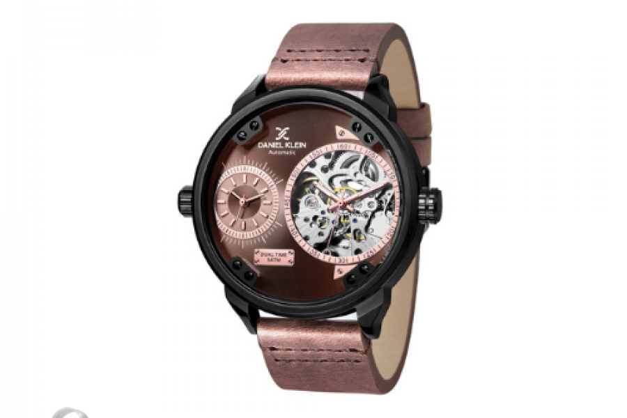 Daniel Klein - Automatic Men's Watch Brown Dial