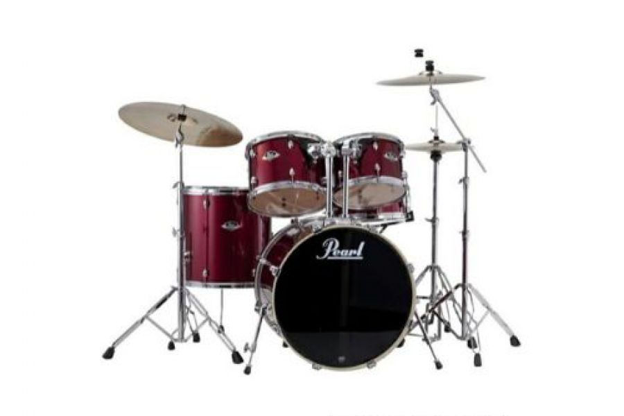 Pearl - Drumset w/out Hardware & Cymbals
