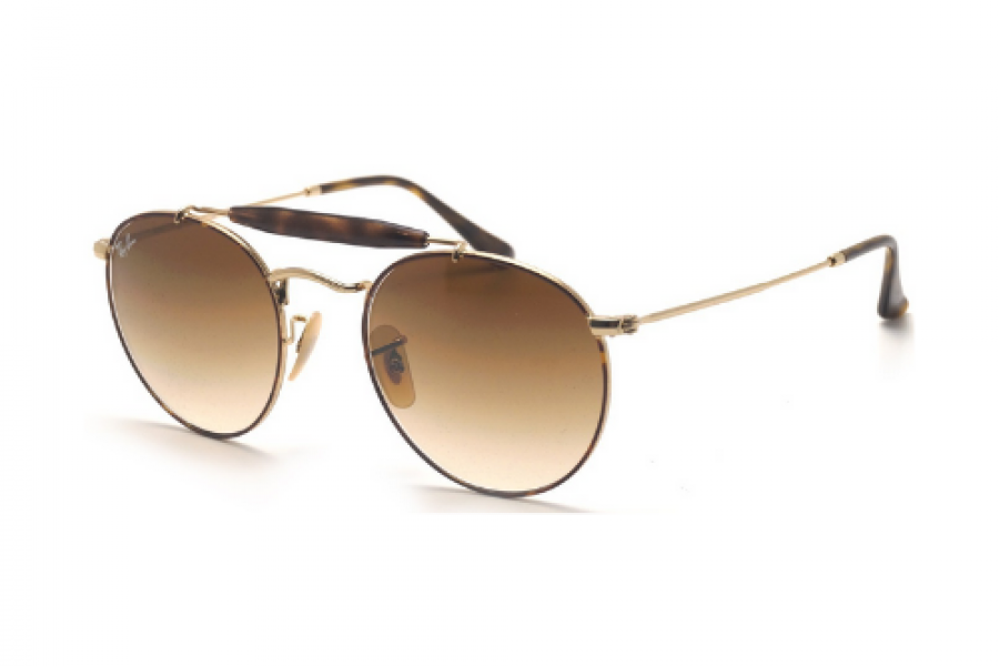 Ray-Ban - Tortoise Gold Light Brown Gradient Sunglasses