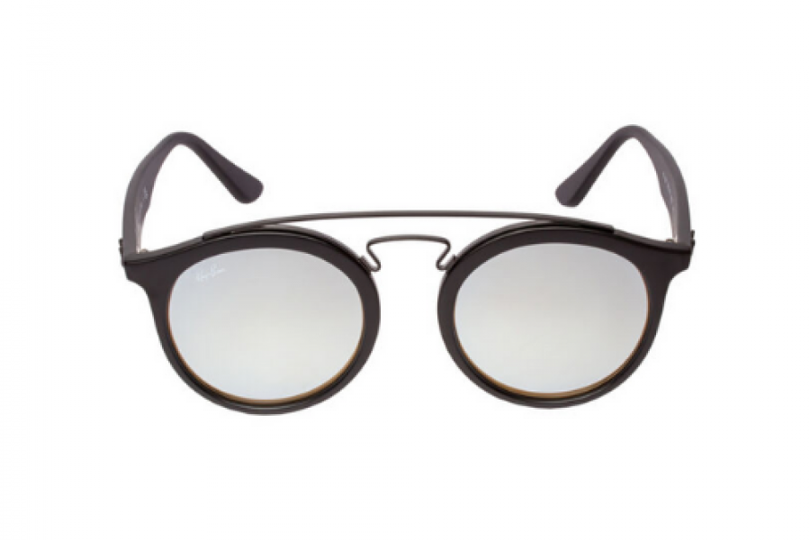Ray-Ban - Gatsby I Matte Black Sunglasses Grey Flash Gradient