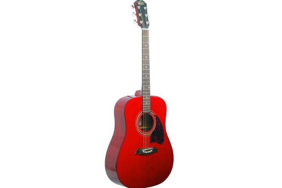Washburn - Oscar Schmidt Acoustic Guitar Red OG2TR Comp